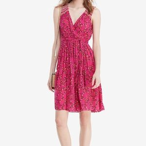 NWT Diane von Furstenberg DVF Floral Silk Wrap Dress